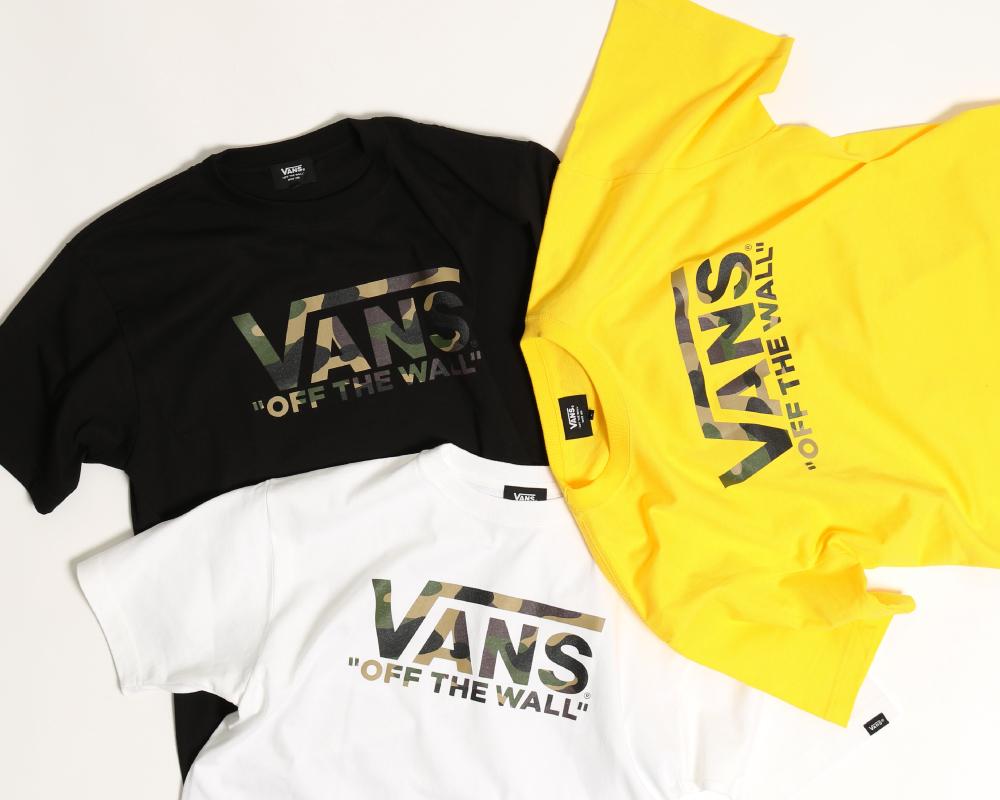 vans,バンズ,別注,エクスクルーシブ,プリントTシャツ,先行予約,2019春夏