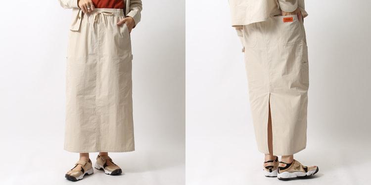 UNIVERSAL OVERALL(ユニバーサルオーバーオール)のジーンズフェクトリー別注シェフマキシスカートです。