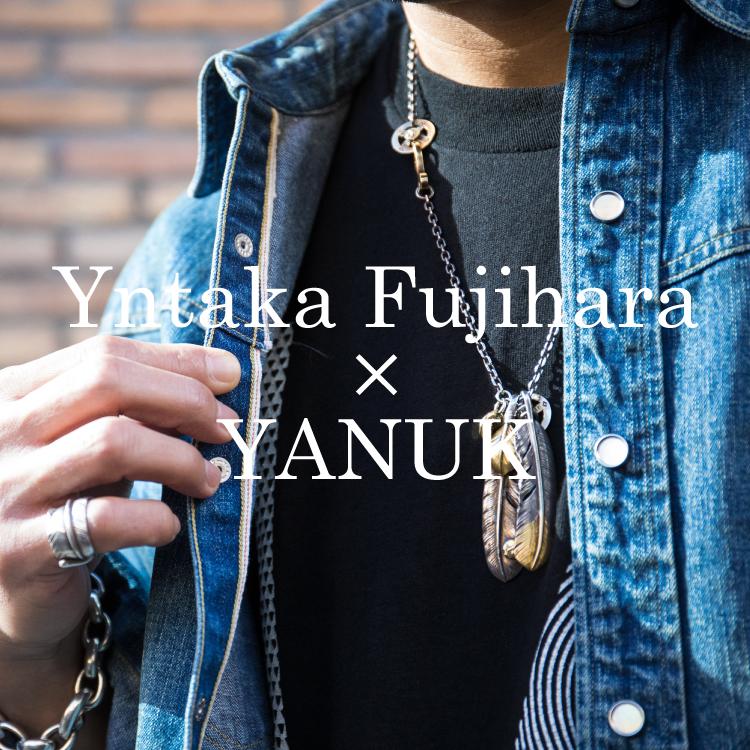 YANUK(ヤヌーク)×Yutaka Fujihara(藤原裕)2020春夏コラボレーションコレクションのバナーです。