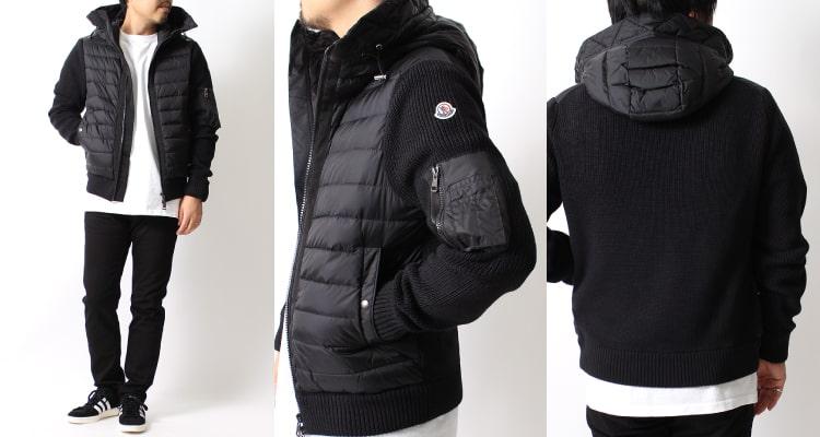 2020秋冬新作 MONCLER(モンクレール)のメンズ パッド入りセーター CARDIGAN TRICOTです。