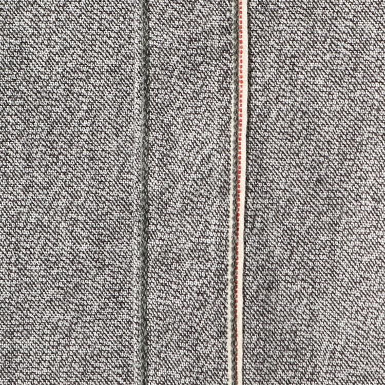 ヤヌークと藤原裕さんの2020秋冬コラボレーションのウエスタンシャツ57203562のブラックシャンブレーです。