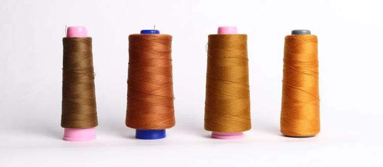 JAPAN BLUE JEANS(ジャパンブルージーンズ)10周年記念限定ジーンズのCIRCLE(サークル)のステッチに使用した糸です。