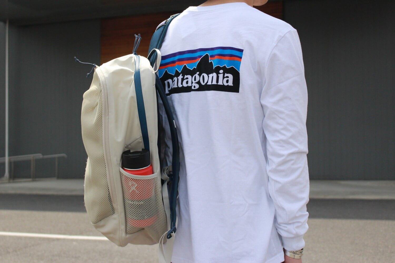 パタゴニアのP6ロゴのロンTの写真です。