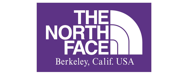 ザ ノースフェイス パープルレーベルのロゴです。