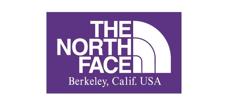 THE NORTH FACE PURPLE LABEL/ザ ノースフェイス パープルレーベルのブランドロゴです。