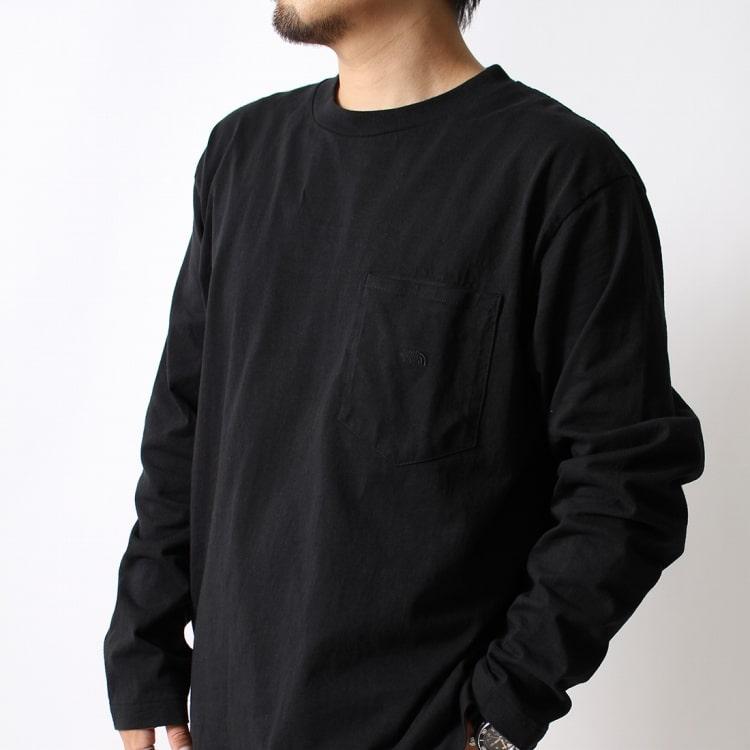 THE NORTH FACE PURPLE LABEL [ザ ノースフェイス パープルレーベル] 7oz 長袖ポケットTシャツです。