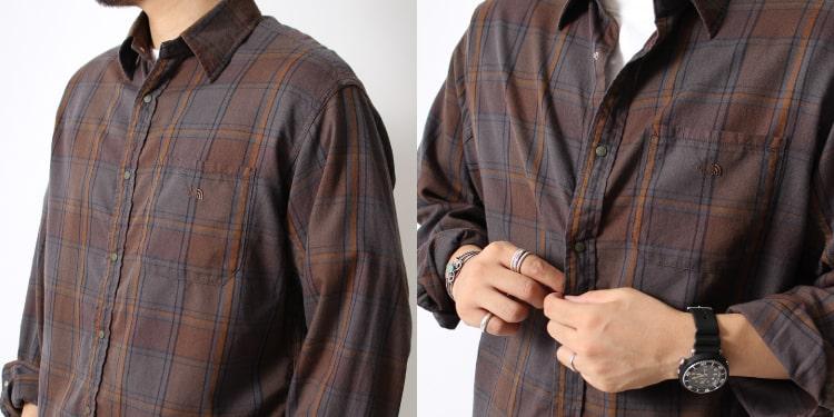 THE NORTH FACE PURPLE LABEL [ザ ノースフェイス パープルレーベル] フランネルシャツです。