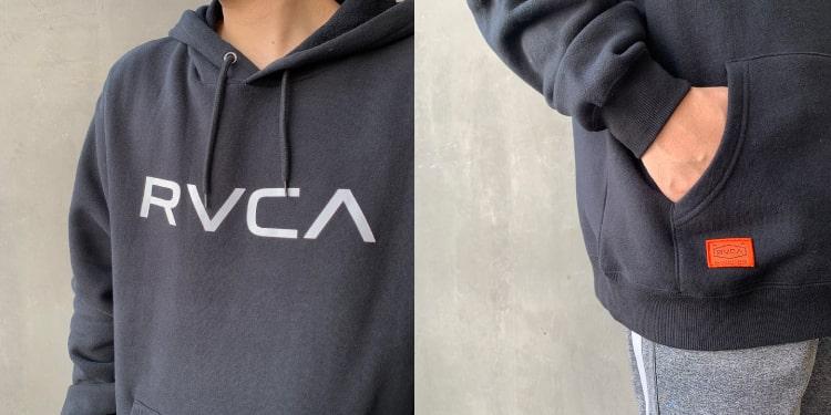 RVCA [ルーカ]のBIG RVCA フーディー、シンプルなスウェットパーカーです。