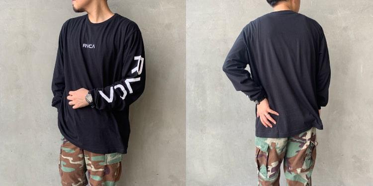 RVCA [ルーカ]のSMALL RVCA ロングスリーブTシャツです。