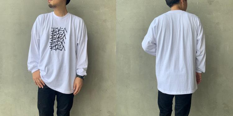 RVCA [ルーカ]のMULTI SCRIPT OVERLAY ロングスリーブ Tシャツです。