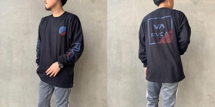 RVCA [ルーカ]のFRACTION ロングスリーブTシャツです。