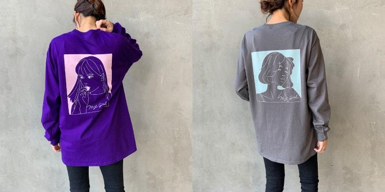SCREEN STARS [スクリーンスターズ] 別注 ガールプリントTシャツです。