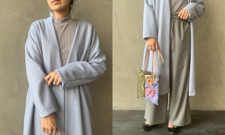 Jeans Factory Clothes [ジーンズファクトリークローズ] ウールレットノーカラーコートです。