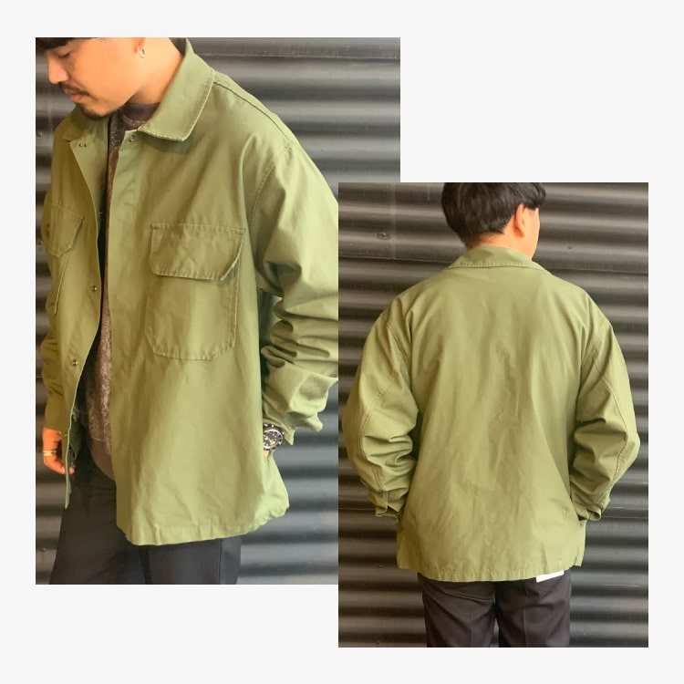 Jeans Factory Clothes [ジーンズファクトリークローズ] ファティーグシャツです。