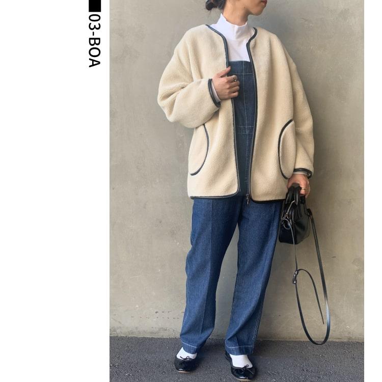 Jeans Factory Clothes [ジーンズファクトリークローズ] パイピングボアジャケットのコーディネートです。