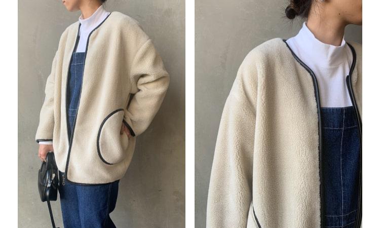Jeans Factory Clothes [ジーンズファクトリークローズ] パイピングボアジャケットです。