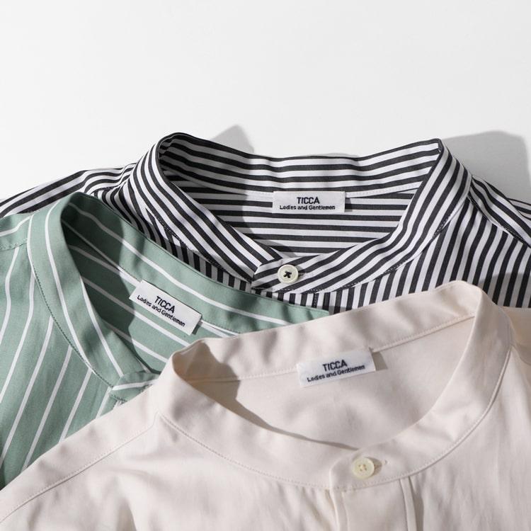 春待ちの今から気分一新!TICCA(ティッカ)別注シャツ&新作ラインナップの特集バナーです。