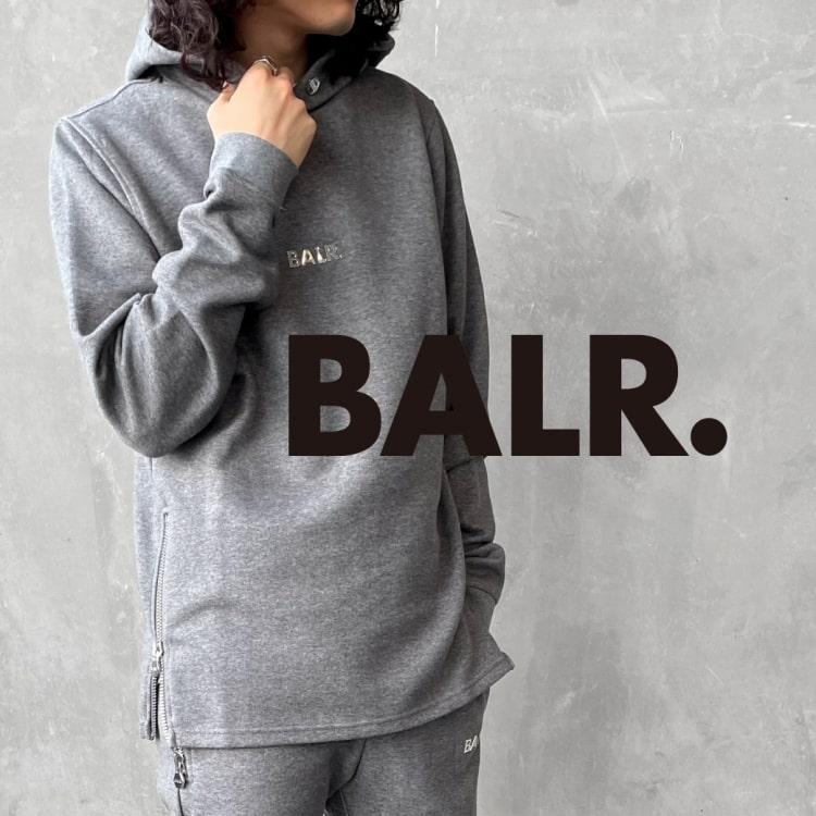 スポーツ×ラグジュアリーの新定番 BALR.(ボーラー)の特集バナーです。