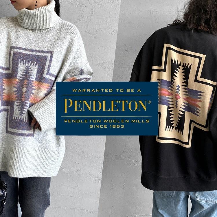 今期も注目の大人気PENDLETON(ペンドルトン)21AWラインナップの特集用バナーです。