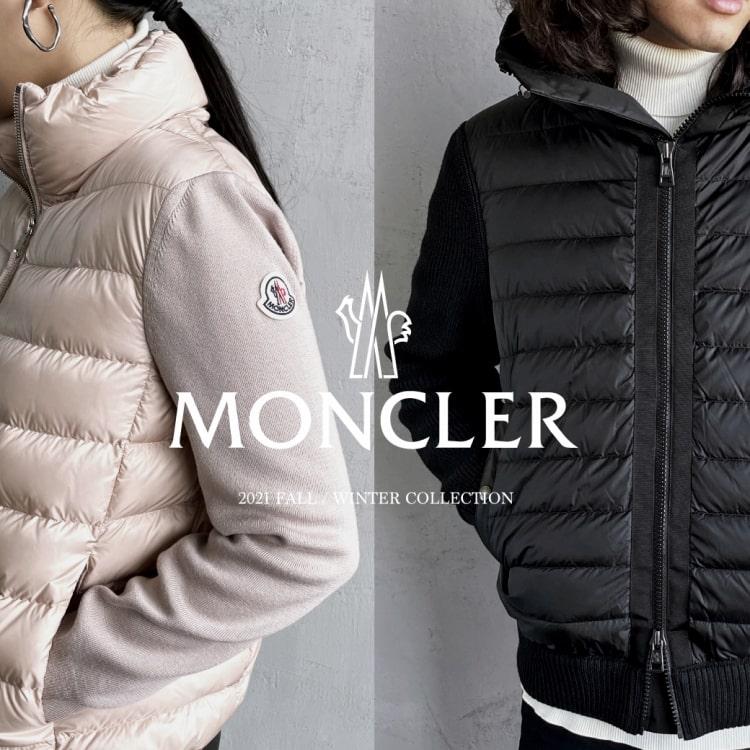 MONCLER(モンクレール)2021秋冬コレクション入荷の特集バナーです。