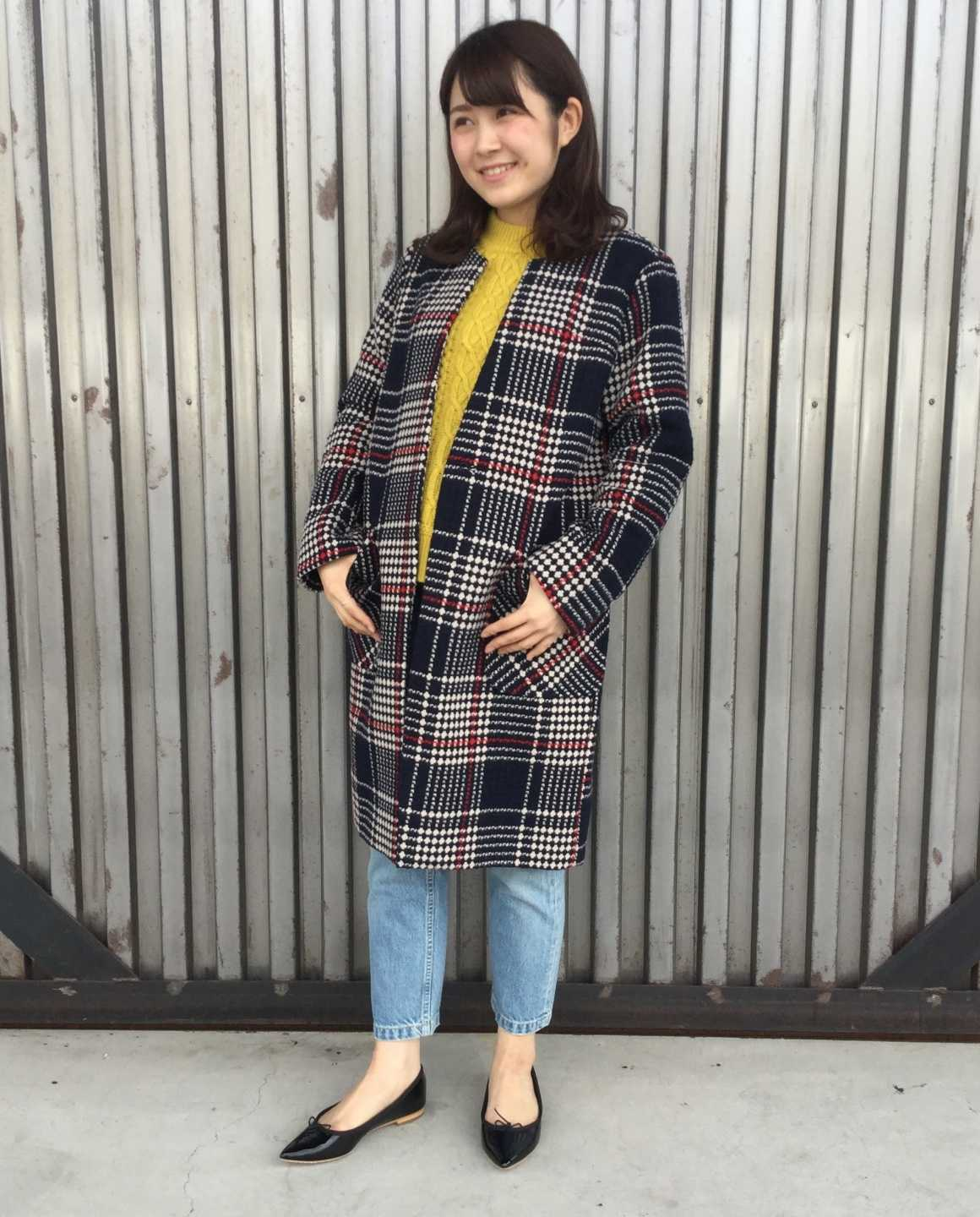 RETRO CHECK COAT<br />