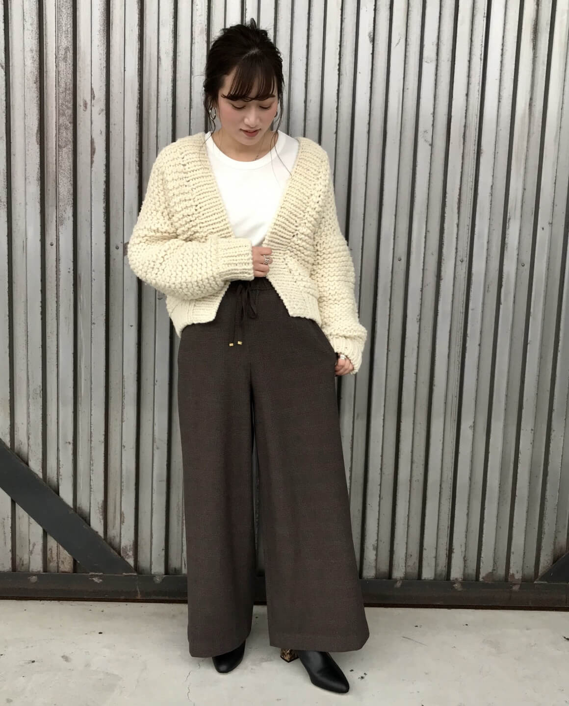 KNIT CARDIGAN STYLE