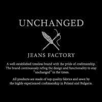 UNCHANGED × JEANSFACTORY
